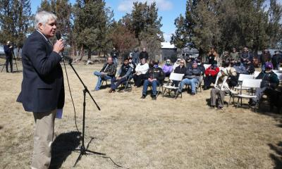 Bentz Speaks to Vietnam War Veterans Day Crowd